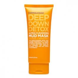 Formula 10.0.6 Deep Down Detox Ultra Cleansing Mud Mask - 3.4oz Bottle
