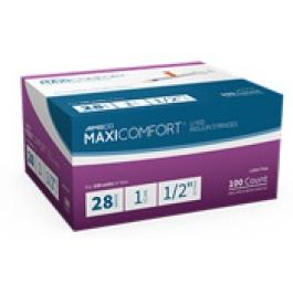 AIMSCO Insulin Syringes 28 Gauge, 1cc, 1/2