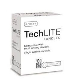 Techlite Lancets 28G- 100ct