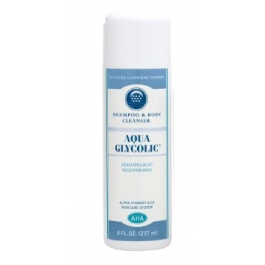 Aqua Glycolic Shampoo & Body Cleanser - 8oz