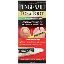 Fungi Nail Toe and Foot Ointment - .7oz Tube