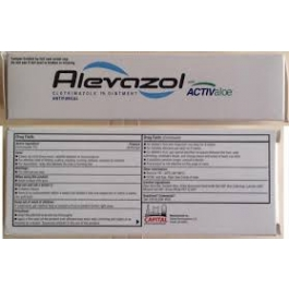 Alevazol Topical Ointment 1%-2oz