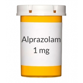 Alprazolam 1 mg Tablets