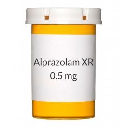 Alprazolam XR 0.5 mg Tablets
