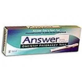 Answer Quick/Simple Pregnancy Test Single - 2ct