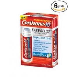 Cortizone 10 Easy Relief Applicator with Healing Aloe 1.25oz