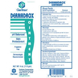 Dermadrox Topical Ointment-4oz