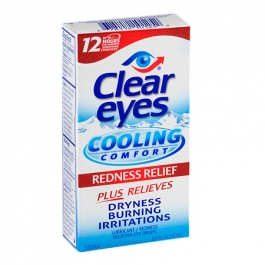 Clear eyes Cooling Comfort Lubricant/Redness Relief Eye Drops - 0.5 fl oz