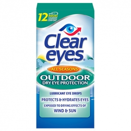 Clear eyes Outdoor Dry Eye Protection - 0.5 fl oz