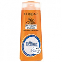 L'Oreal Paris Go 360 Clean Anti-Breakout Facial Cleanser- 6oz