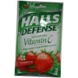 Halls Defense Supplement Drops Vitamin C Strawberry Flavored 30 Drops