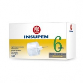 Insupen Sensitive Pen Needles, 32 Gauge, 6mm- 100ct