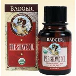 Badger Man Care Pre-Shave Oil - 2oz Bottle