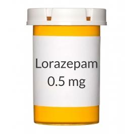Lorazepam 0.5mg Tablets