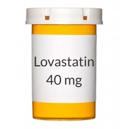 Lovastatin 40mg Tablets