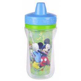 The First Years Disney Mickey Mouse Insulated Sippy Cup, 9oz (2 Pack)