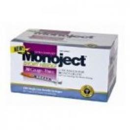 Monoject Insulin Syringe 29 Gauge, 1cc, 1/2