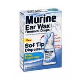 Murine Ear Wax Remover Drops -  0.5oz