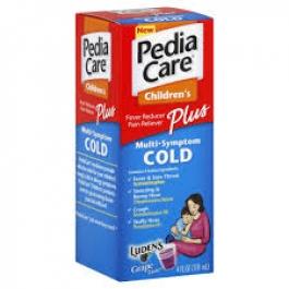 PediaCare Children's Multi-Symptom Plus Cold Formula - Grape 4 oz.