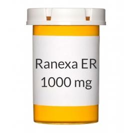 Ranexa ER 1000mg Tablets