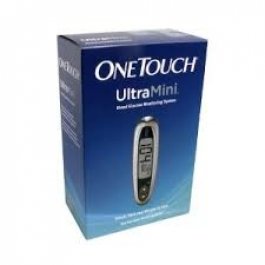 OneTouch Ultra Mini Blood Glucose Meter, Silver