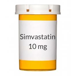 Simvastatin 10mg Tablets