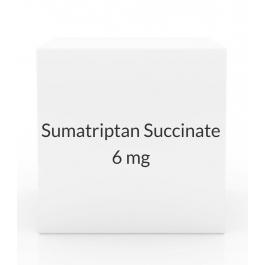 Sumatriptan Succinate 6mg/0.5ml Injection Refill (2 Cartridge Pack)