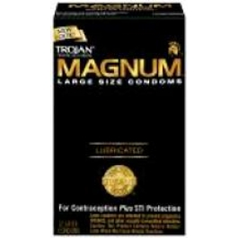 Trojan Magnum Condoms- 12ct