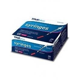 GNP® Insulin Syringe 28 Gauge, .5cc, 1/2