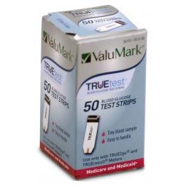 GNP TRUEtest Diabetic Test Strips - 50 Strips