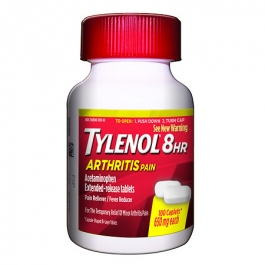 TYLENOL® 8 Hour Arthritis Pain Caplets- 100ct