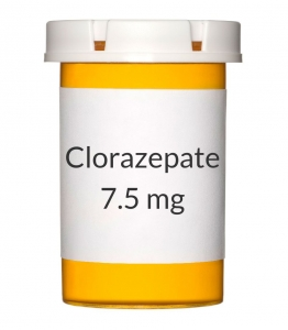Clorazepate recommendations