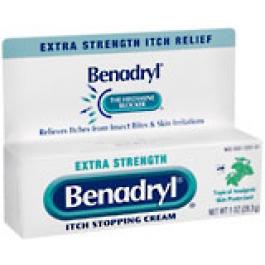 Buy benadryl cream extra strength 1oz healthwarehouse com
