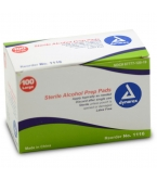 Dynarex Sterile Alcohol Prep Pads - 100 Pads