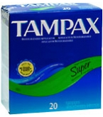 Tampax Tampons Flushable Applicator Super Absorbency - 20****OTC DISCONTINUED 2/28/14