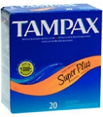 Tampax Tampons Flushable Applicator Super Plus Absorbency - 20****OTC DISCONTINUED 2/28/14
