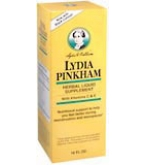 Lydia Pinkham Herbal Liquid 16 oz