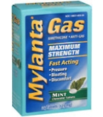 Mylanta Gas Tablets Maximum Strength Mint - 24***otc Discontinued  2/24/14