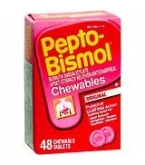 Pepto Bismol Original Chewable Tablet - 48