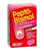 Pepto Bismol Original Chewable Tablet - 48