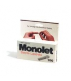 Monolet Blood Glucose Lancets 100/Box