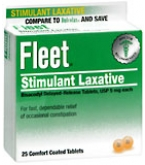 Fleet Laxative Tablets 25 ct