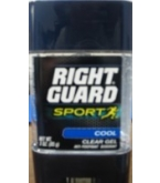 Right Guard Power Anti-Perspirant Clear Cool Gel 3 oz