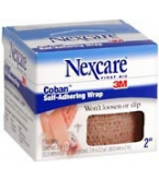 Nexcare Coban Self-Adherent Wrap 2 Inches X 5 Yards