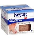 Nexcare Coban Self-Adherent Wrap 2 Inches X 5 Yards