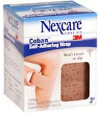 Nexcare Coban Self-Adherent Wrap 3 Inches X 5 Yards