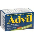 Advil Gel Caplet 50ct