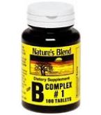 Natures Blend B Complex #1 Tablets 100ct