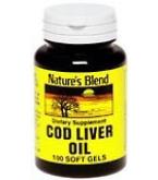 Natures Blend Cod Liver Oil 100ct