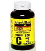 Natures Blend Vitamin C 500 mg Tablets 250ct
